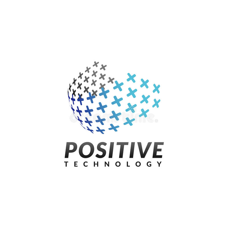 Logo de société de technologie photos stock
