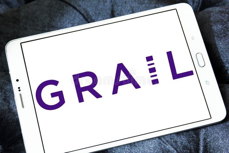 Logo de société des sciences de la vie de Graal image libre de droits