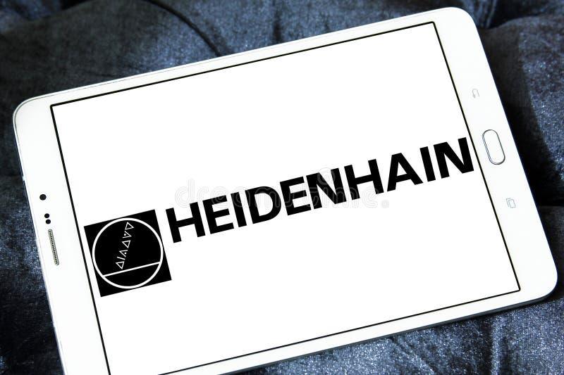 Logo de société de Heidenhain photo stock