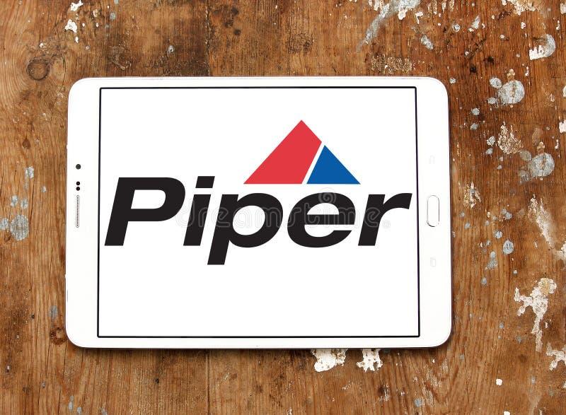 Logo de société de Piper Aircraft image stock