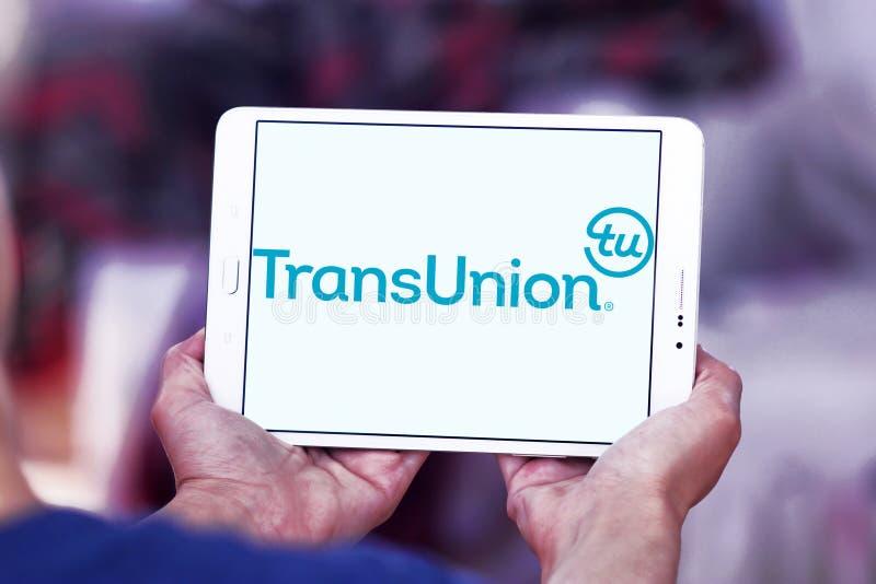 Logo de société de technologie de l'information de TransUnion photos stock