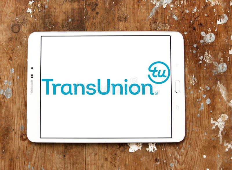 Logo de société de technologie de l'information de TransUnion image libre de droits