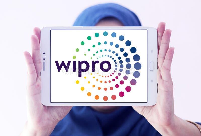 Logo de société de Wipro photographie stock libre de droits