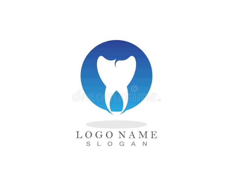 Logo de soins dentaires et icônes APP de calibre de symboles illustration de vecteur