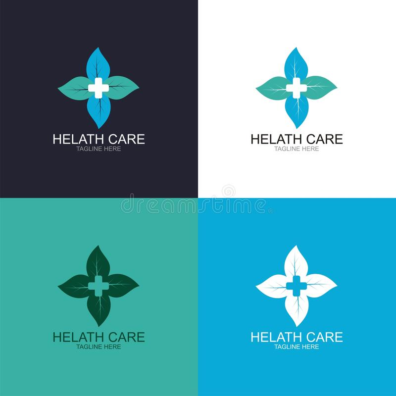Logo de soins de santé illustration stock