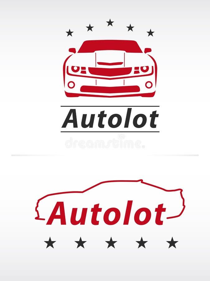 Logo de sort de voiture illustration libre de droits
