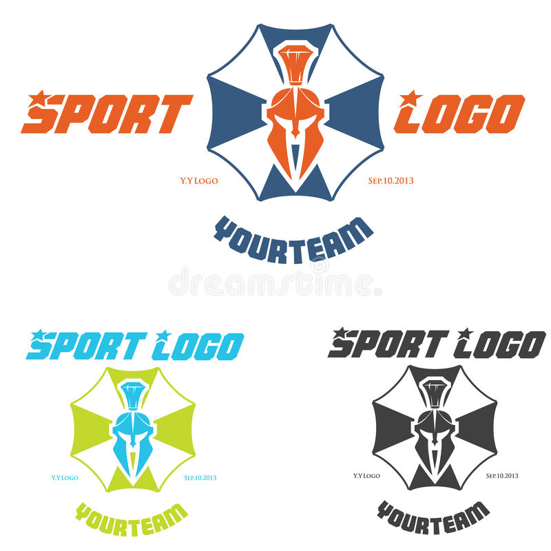 Logo de sports illustration stock