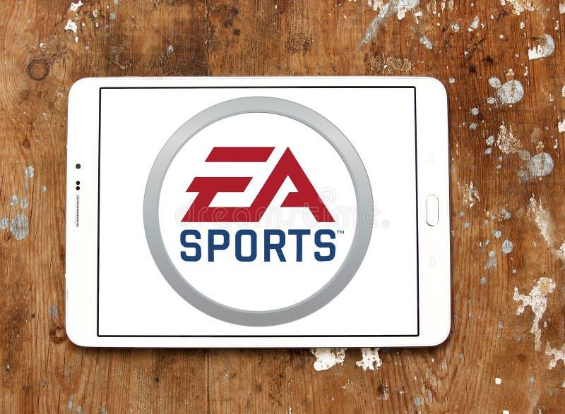 Logo de sports d'ea images stock
