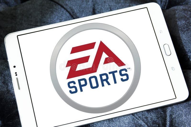 Logo de sports d'ea photographie stock