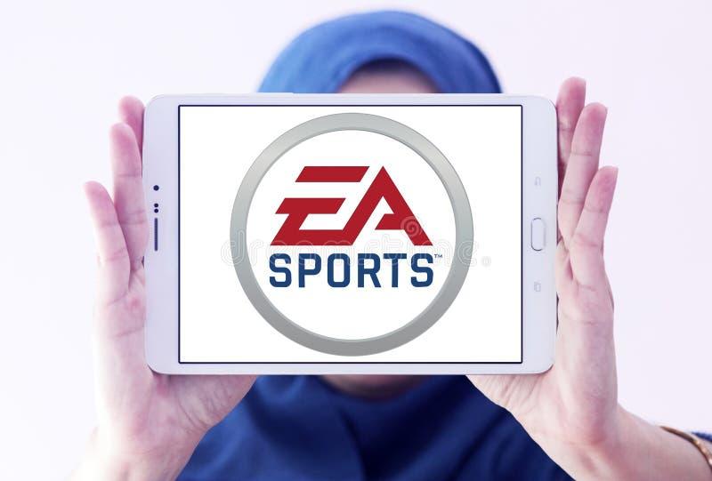 Logo de sports d'ea photo stock