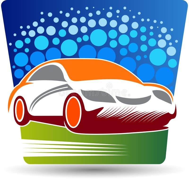 Logo de station de lavage illustration stock