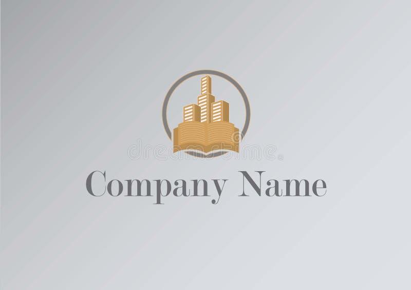 Logo de stupéfaction pour l'institut éducatif illustration libre de droits