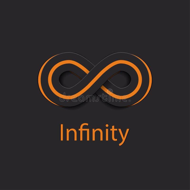 Logo de symbole d'infini Illustration de vecteur illustration de vecteur