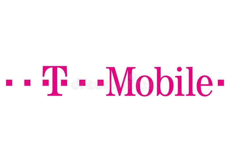 Logo de T-Mobile illustration libre de droits