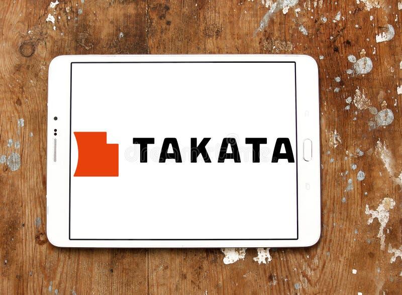 Logo de Takata Corporation photographie stock libre de droits