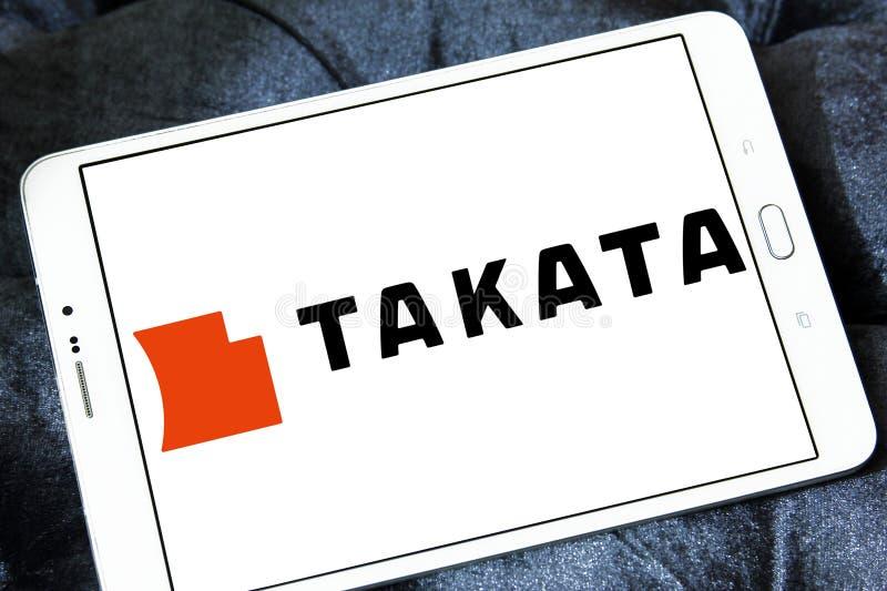 Logo de Takata Corporation photos libres de droits