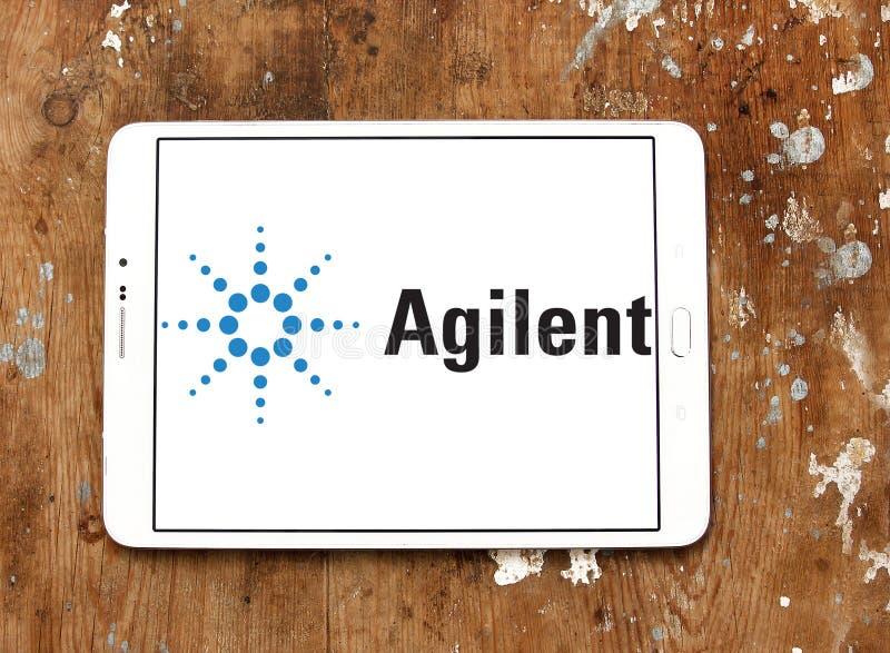 Logo de technologies d'Agilent photo libre de droits