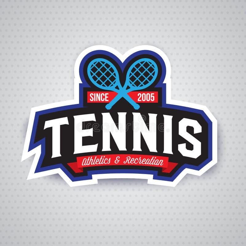 Download Logo De Tennis, Insigne, Calibre De Conception Illustration de Vecteur - Illustration du étiquette, ligue: 87708948