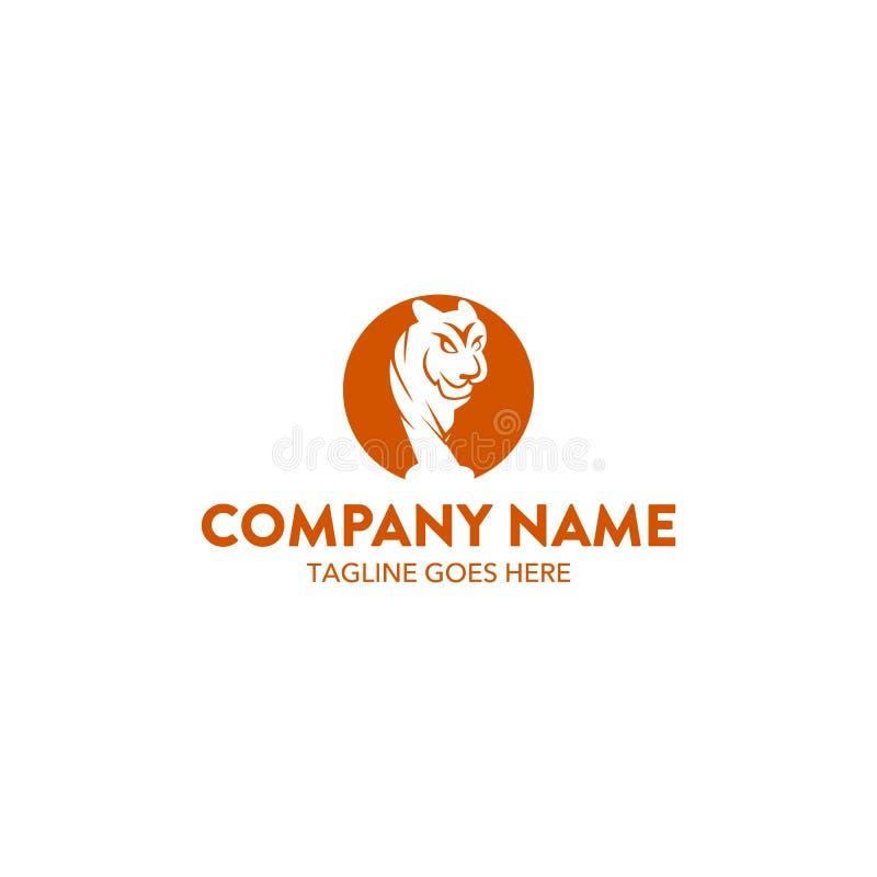 Logo de tigre illustration stock