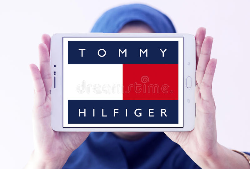 Logo de Tommy Hilfiger photos libres de droits