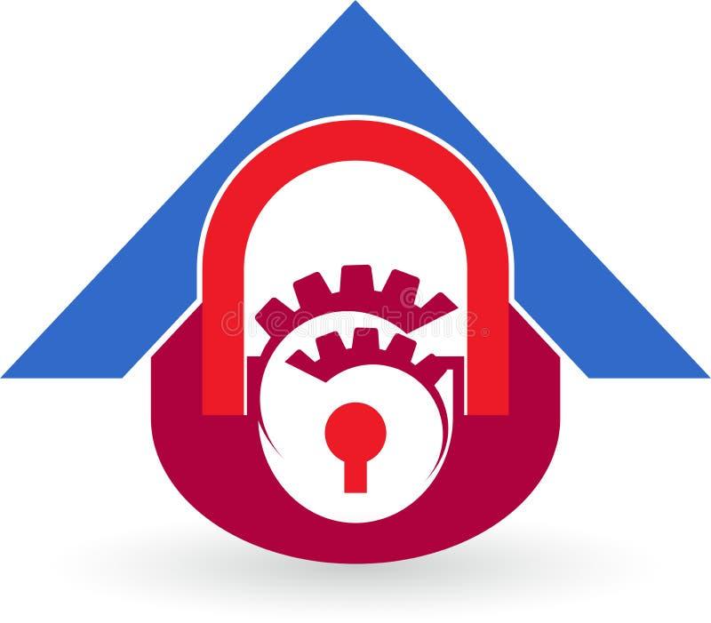 Logo de touche début d'écran illustration de vecteur