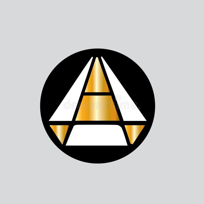 Logo de vecteur de diamant Logo de bijoux Embl?me d'orf?vre Les pr?sents de luxe font des emplettes illustration de vecteur