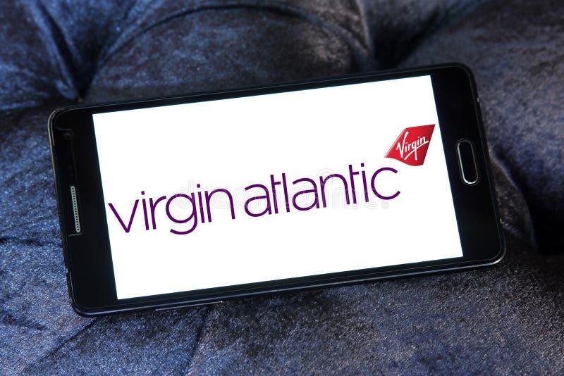 Logo de Virgin Atlantic Airways photo stock
