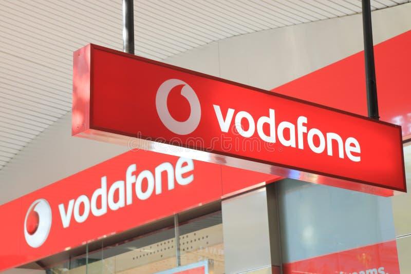 Logo de Vodafone photo libre de droits