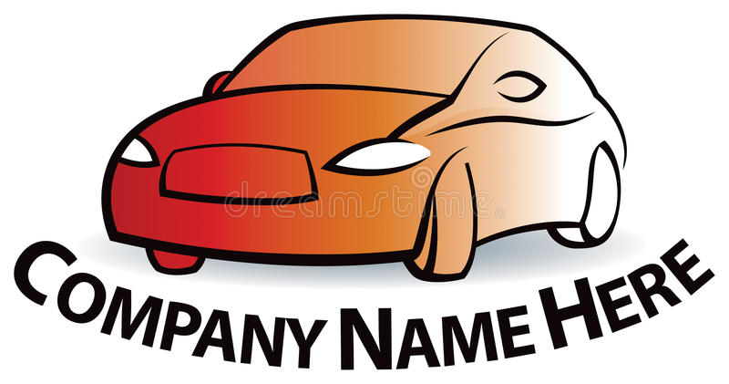 Logo de voiture illustration stock