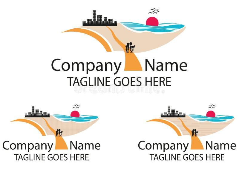 Download Logo de voyage en main illustration de vecteur. Illustration du fond - 45368660