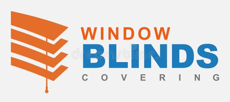 Logo dei ciechi illustrazione di stock