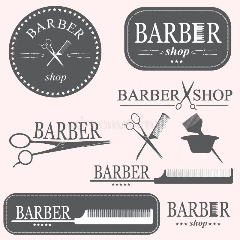 Logo del barbiere royalty illustrazione gratis