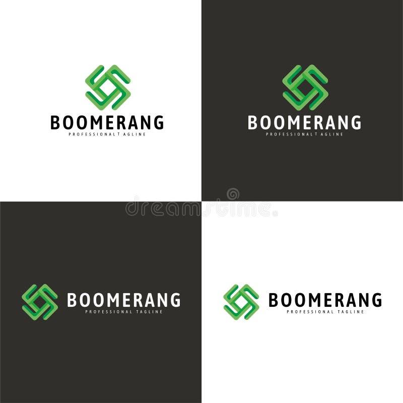 Download Logo del boomerang illustrazione vettoriale. Illustrazione di titolo - 117980850