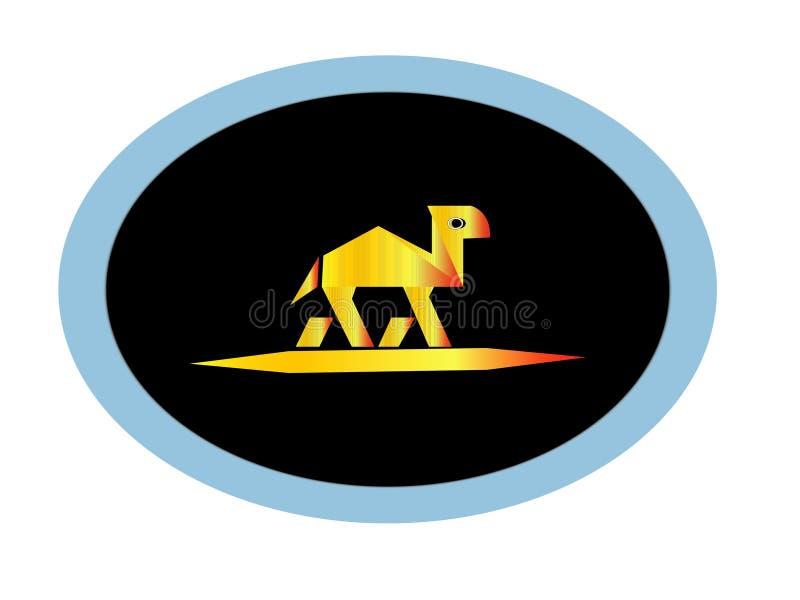 Logo del cammello illustrazione di stock
