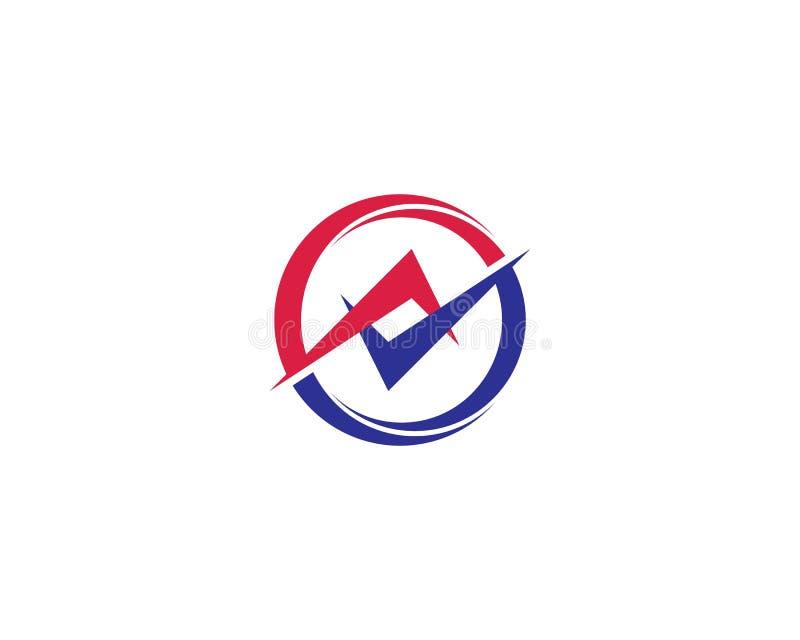 Logo del cerchio illustrazione vettoriale