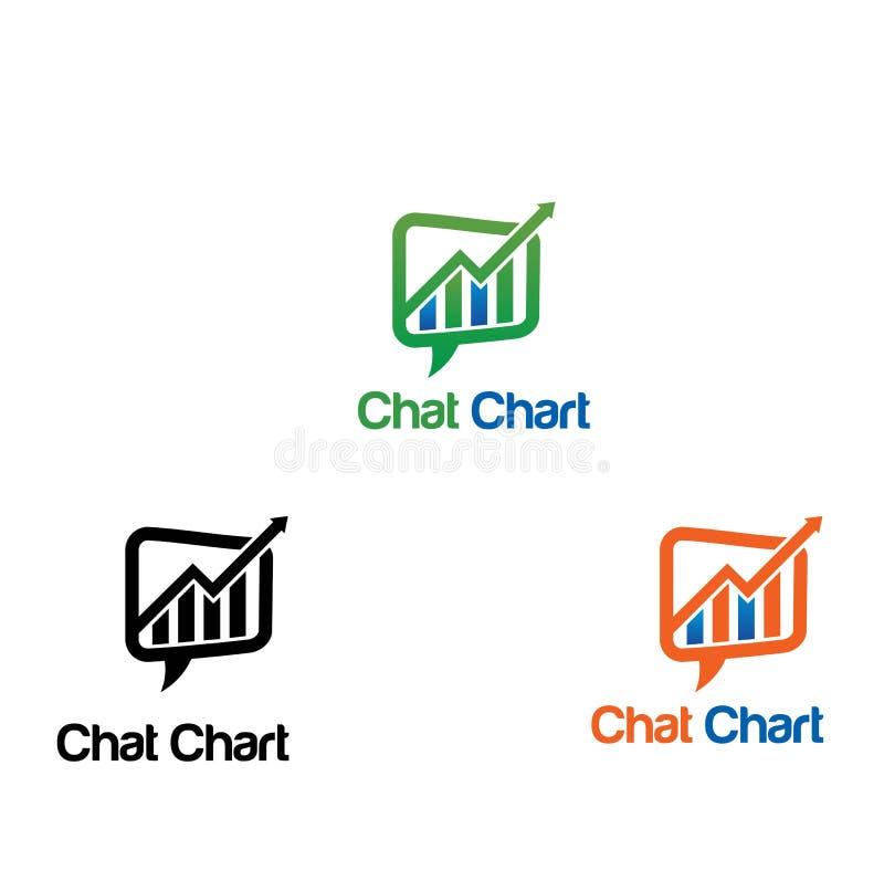 Logo del grafico immagini stock libere da diritti