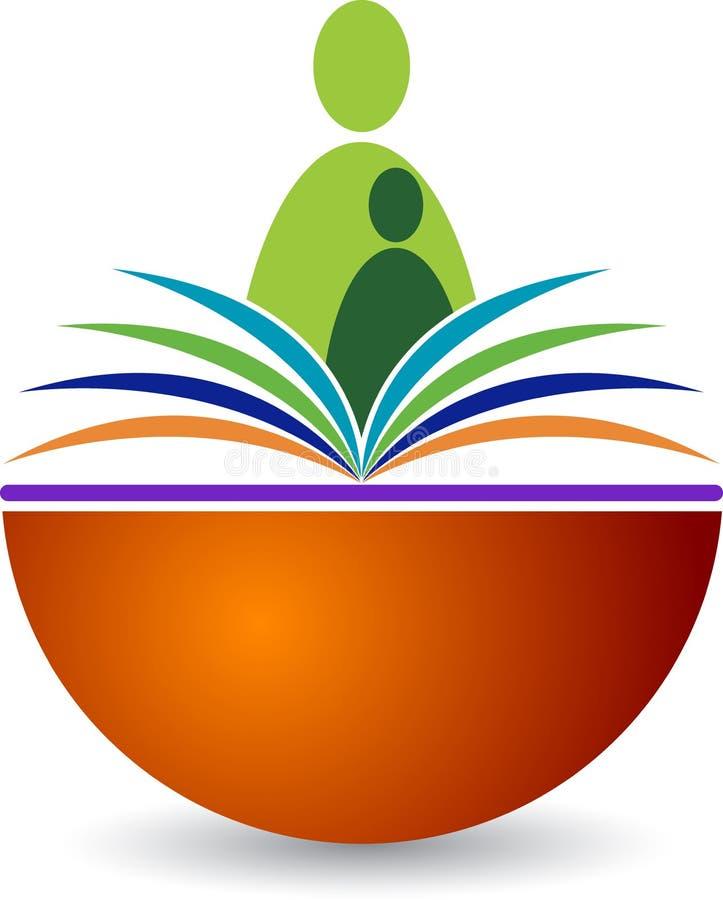 Logo del lettore del libro royalty illustrazione gratis
