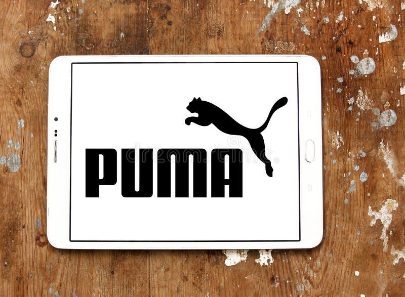 Logo del PUMA immagine stock