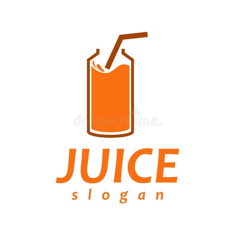 Logo del succo immagini stock libere da diritti