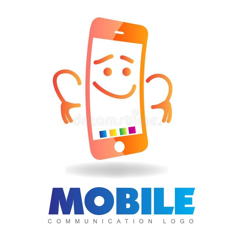 Logo del telefono illustrazione vettoriale