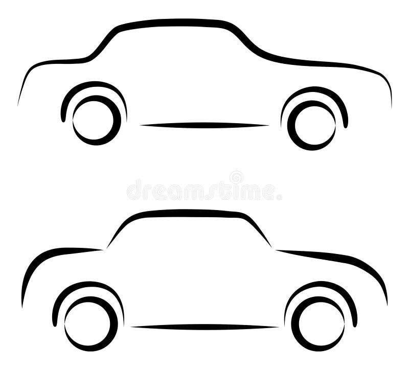 Logo dell'automobile illustrazione di stock