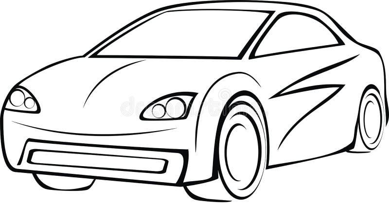 Logo dell'automobile fotografia stock