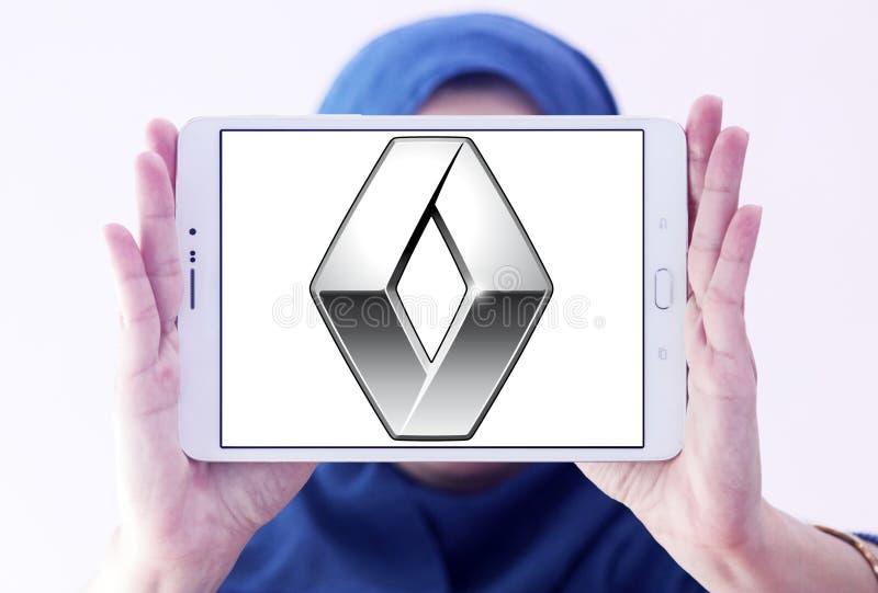 Logo dell'automobile di Renault fotografia stock libera da diritti