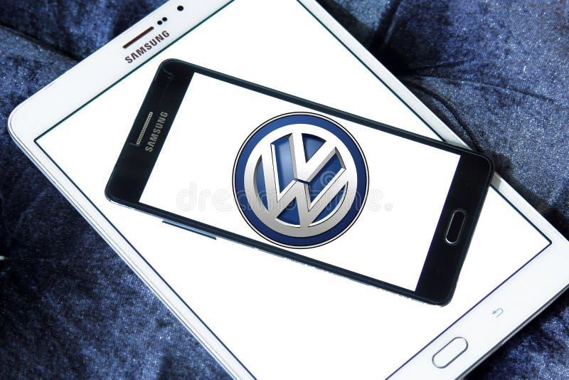 Logo dell'automobile di Vw fotografia stock