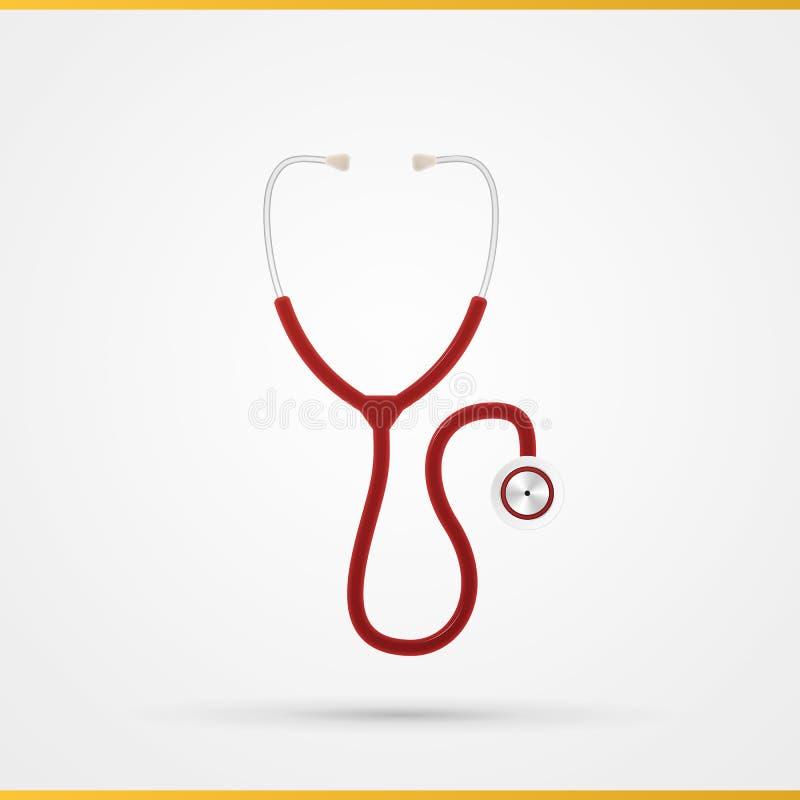 Logo dell'icona dello stetoscopio royalty illustrazione gratis