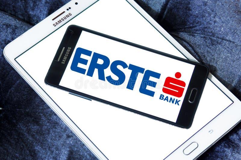 Logo della Banca del gruppo di Erste immagine stock