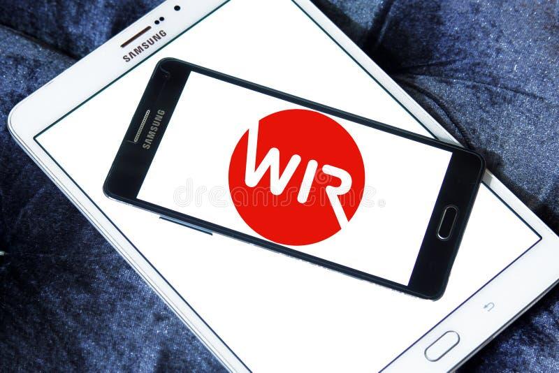 Logo della Banca di WIR fotografie stock libere da diritti