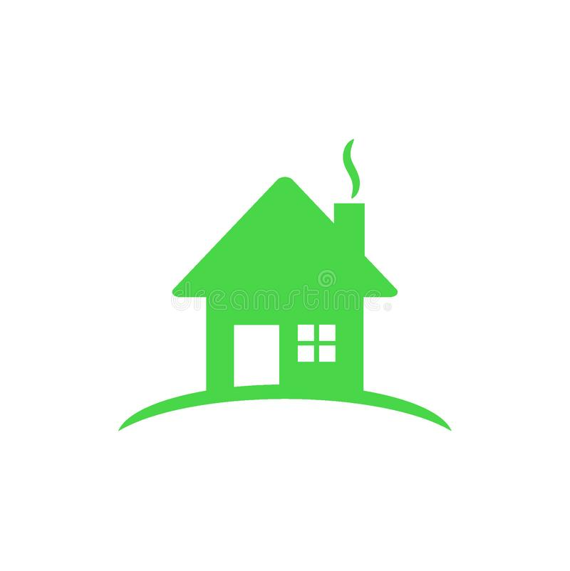 Logo della Camera nel colore verde royalty illustrazione gratis