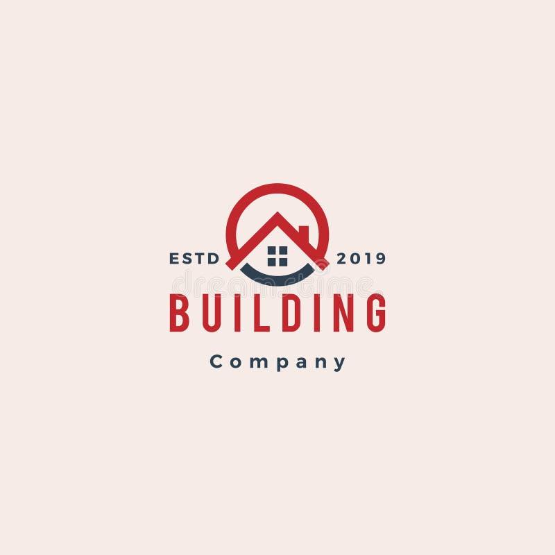 Logo della costruzione e del bene immobile royalty illustrazione gratis