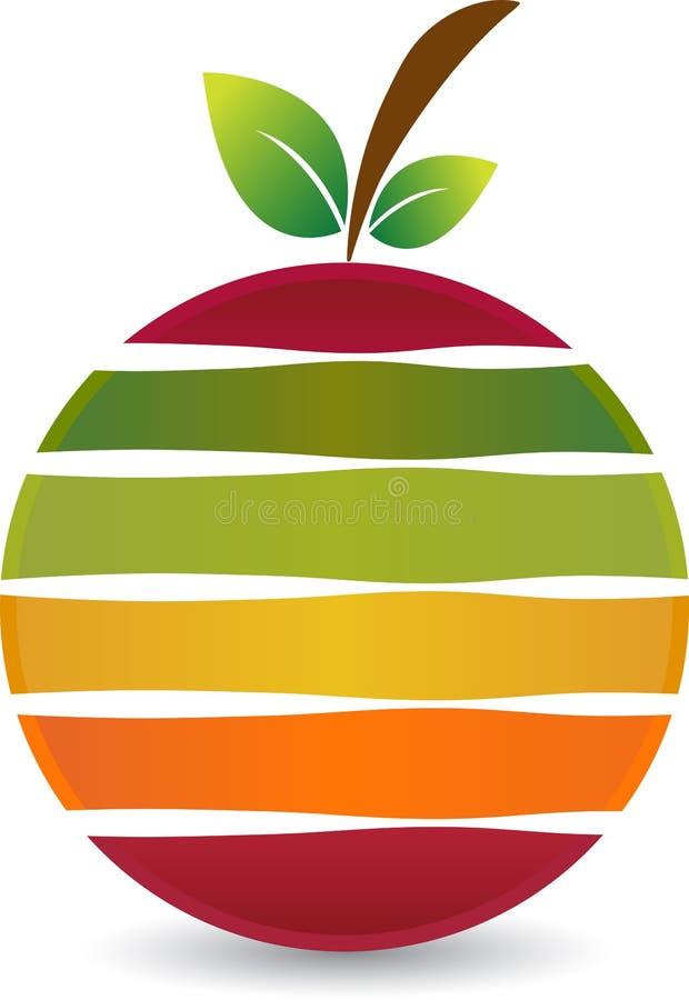 Logo della frutta illustrazione di stock